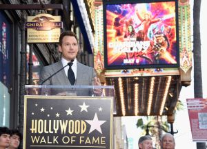 Chris Pratt Receives Star on Hollywood Walk of Fame