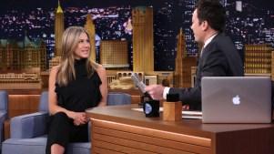 Lip Flip: Jennifer Aniston Interviews Herself