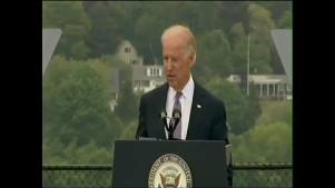 Vice President Biden at Coast Guard Academy