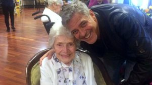 Clooney Pays Surprise Visit to Devoted 87-year-Old Fan