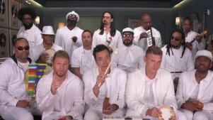 'Tonight': Backstreet Boys, Roots Sing 'I Want It That Way'