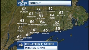 NBC CT. CHIEF METEOROLOGIST BRAD FIELD PROVIDES US WITH THE EVENING WX FORECAST ON MAY 22,2013