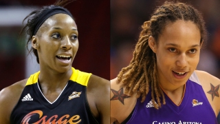 NBA Players Griner, Johnson Engaged