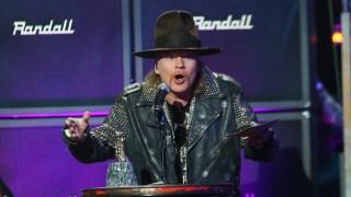 "Axl Rose Talks ""World's Greatest Singers"" List"