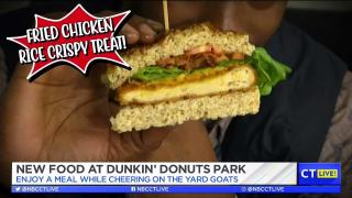 [HAR] CT LIVE!: New Food at Dunkin' Donuts Park