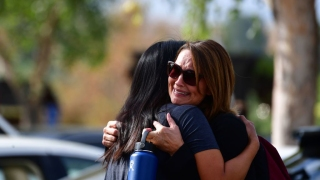 Pictures: Students Reunite After 16-Year-Old Classmate Opens Fire on Northern LA School Campus