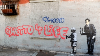 """Banksy's """"Better Out Than In"""" Exhibit on the Streets of NYC"""