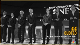 [NATL] Key Quotes From Democratic Debate