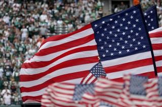 North Carolina Teacher Suspended For Stomping US Flag