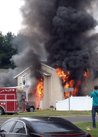 Fire Rips Through New Milford Condo Complex