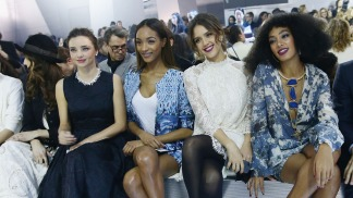 Celebs in the Front Row: Miranda Kerr, Jessica Alba