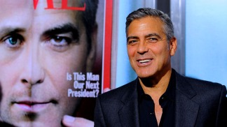 """George Clooney Dishes About the """"Ides of March."""""""