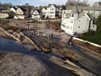 Sandy Causes Destruction in CT