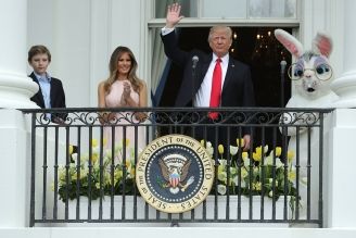 The Trumps' First White House Easter Egg Roll