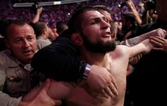 Brawl at UFC 229 After Nurmagomedov Chokes Out McGregor