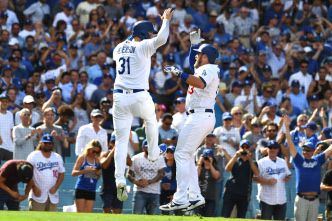 Dodgers Win 6th straight NL West Title, Advance to NLDS