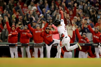 Red Sox Take Game 1 of World Series Over Dodgers