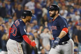 Red Sox Stun Dodgers, Take 3-1 Lead in World Series
