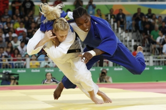 US Judoka Kayla Harrison is Golden Again