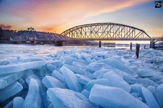 Ice Jam Flood Threat