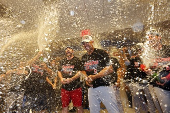 Red Sox Celebrate Win by Blasting 'New York, New York'