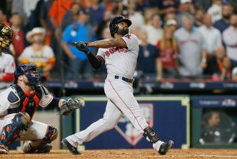 Jackie Bradley Jr. Helps Red Sox Slam Astros in ALCS Game 3