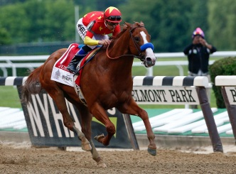 Triple Crown Winner Justify Under Observation