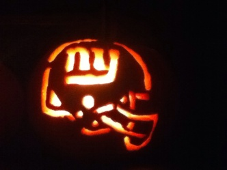 Giants Dress Up as Contenders for Halloween