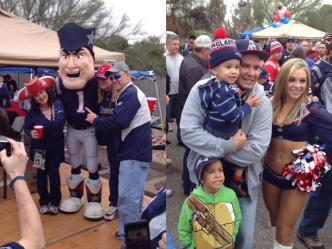 Patriots Fans Ready for Big Game