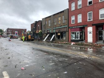 Tornado Touches Down in Woodstock and Webster, Mass