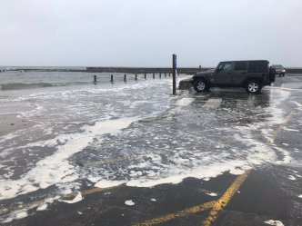 Weekend Nor'easter Brought Heavy Rain, Flooded Shoreline