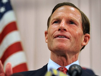 Blumenthal Has First Double-Digit Lead in Months