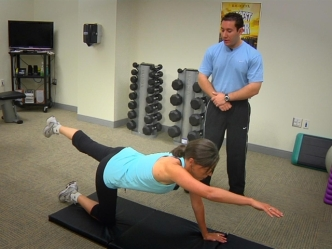 Fitness Minute: Trunk Stabilizer