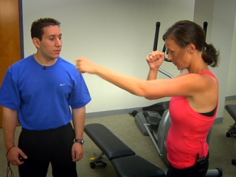 Fitness in a Minute: Boxing Jab