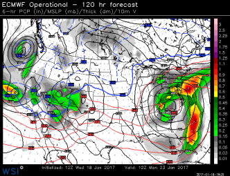 Big Storm Likely Early Next Week