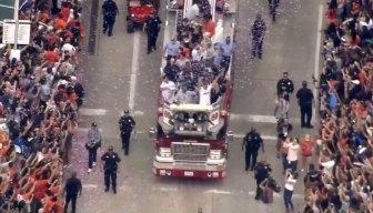 Houston Celebrates World Series Champion Astros With Parade
