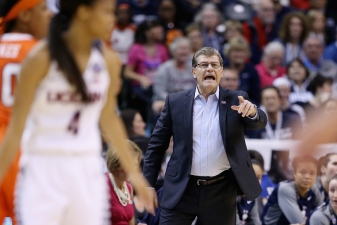 UConn Women's Coach Auriemma Returns From Hospital