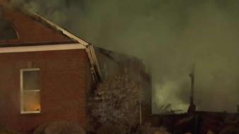 Fire Destroys South Windsor House