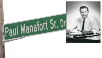 New Britain's Manafort Street Sign Squabble