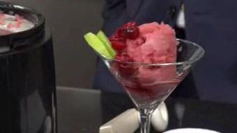 Cranberry Lime Sorbet