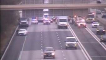 I-91 North in Hartford Reopens After Multi-Vehicle Crash