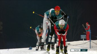 4-Man Sprint to Finish in Nordic Combined Normal Hill/10km