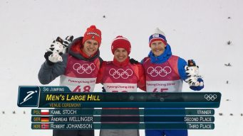 Wellinger, Johansson Double Up on Individual Jumping Medals
