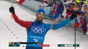 Martin Fourcade Sets French Olympic Gold Medal Record