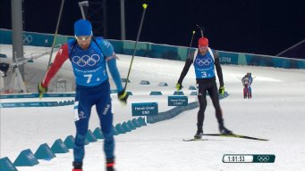 France Storms Back on Germany to Win Gold in Mixed Relay