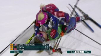 Hear the Norwegian Call of Jessie Diggins' Golden Finish