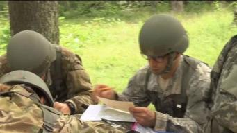 2 Candidates Train for the US Army National Guard