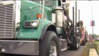 500 Trucks Line Up for 19th Annual 'Wishes on Wheels' Event