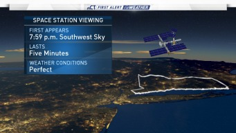 Conditions Ideal to Spot International Space Station Friday