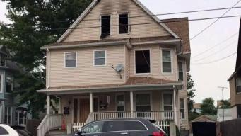 8 Displaced After Apartment Fire in Bridgeport